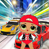lol dolls surprise drift racing