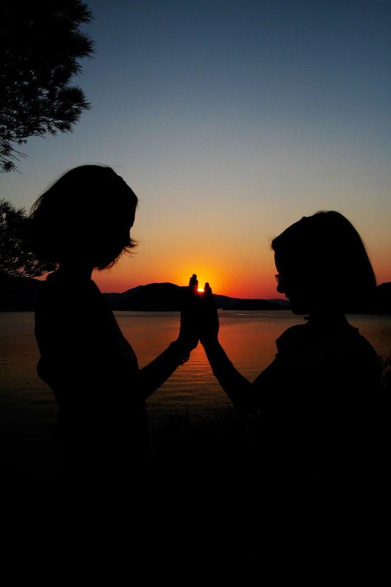 Sorelle amiche del tramonto di bepi1969