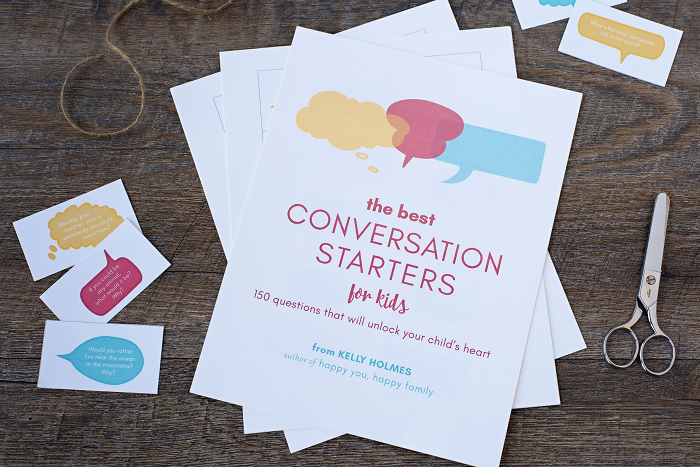 150 family conversation starters