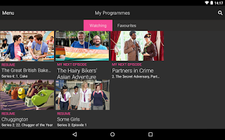 Screenshot of BBC iPlayer
