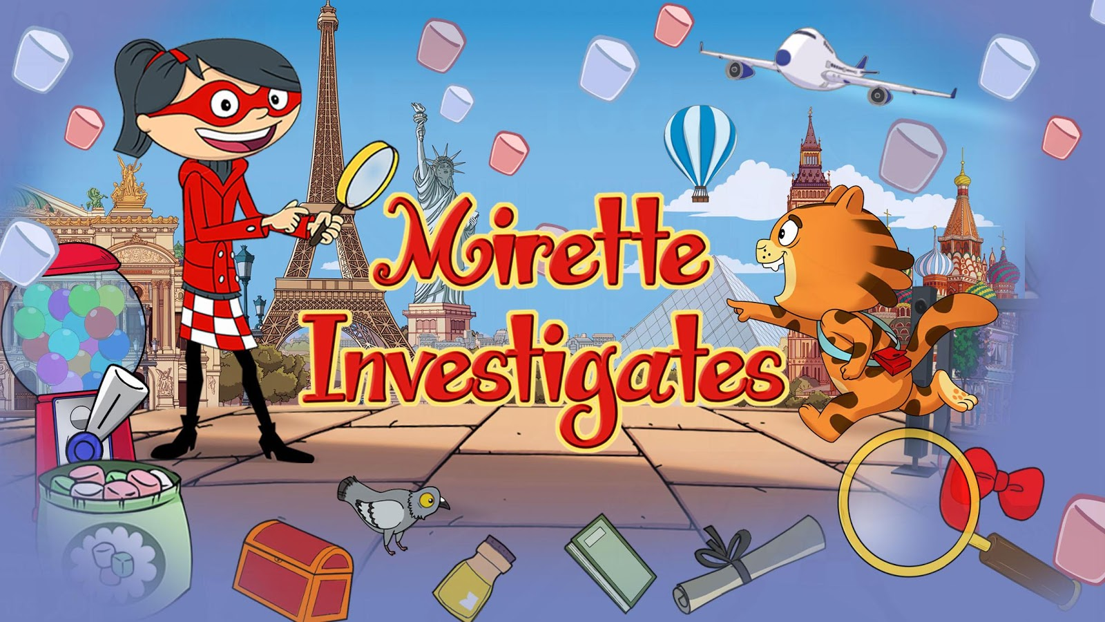 Mirette Investigates - Hidden Objects- screenshot