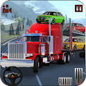 Car Transporter Truck : Heavy Trailer Parking Game icon