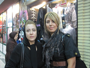 Photo: Day 138 -  Young Iranian Girl and Her Mother in the Bazaar
