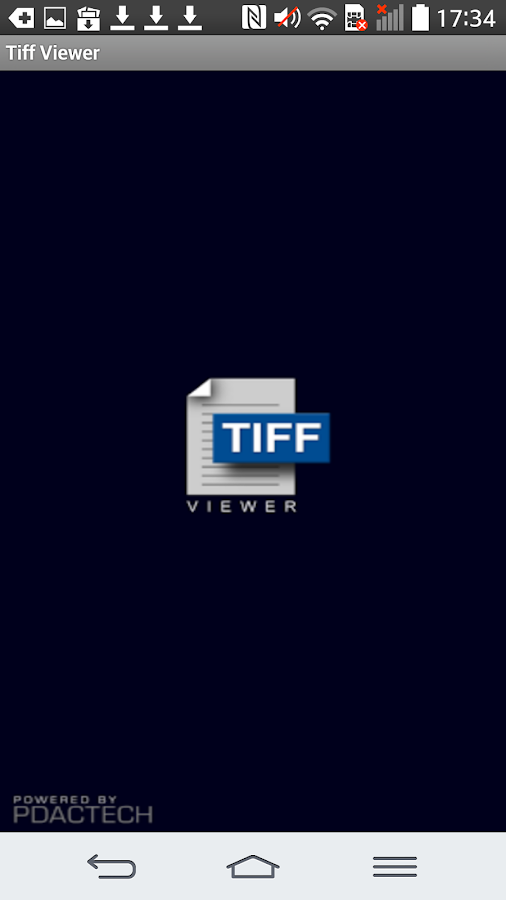 TIFF and FAX viewer - lite- screenshot