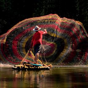 fisherman by Doeh Namaku - People Professional People