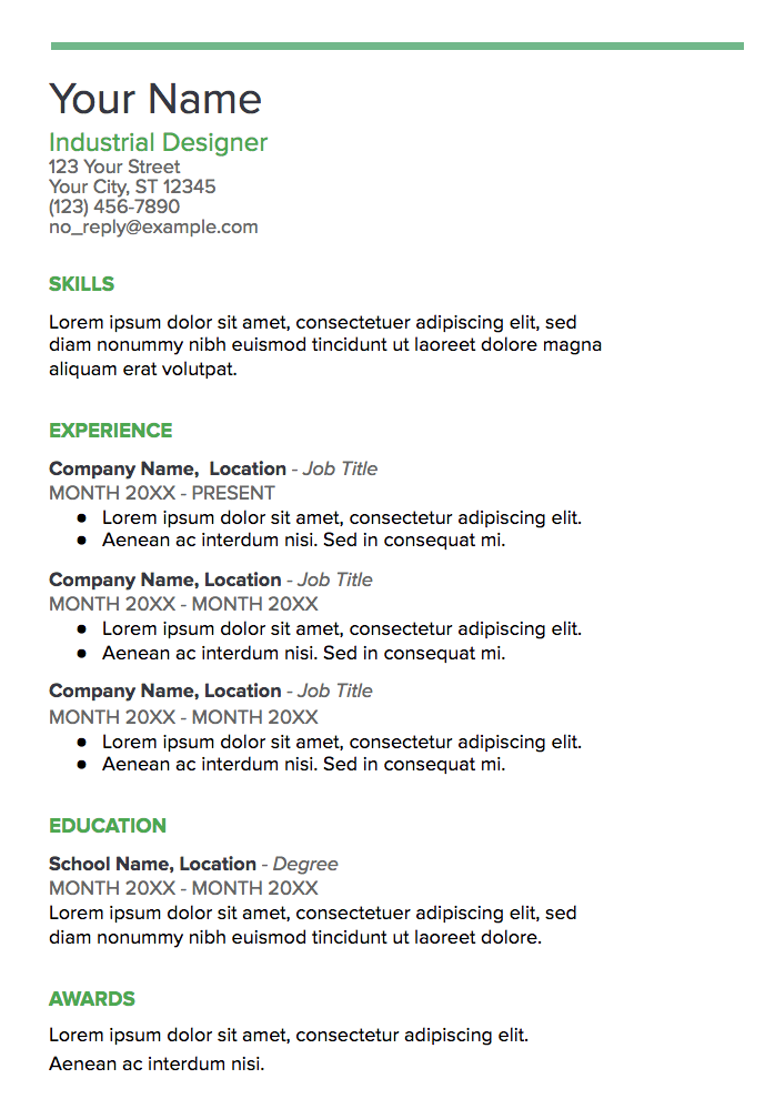 What Makes A Good Web Developer Resume