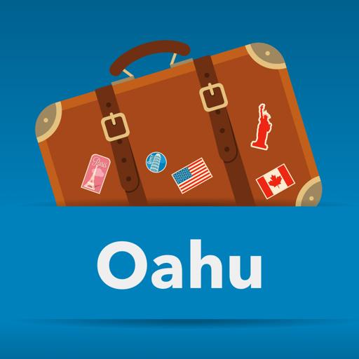 Oahu Hawaii offline map