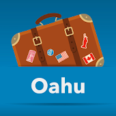 Oahu Hawaii offline map