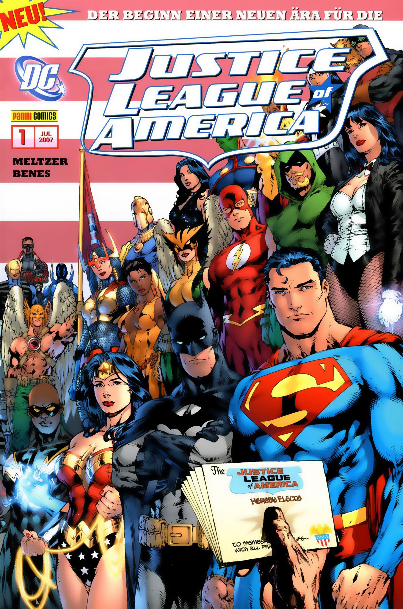 Justice League of America (2007) - komplett