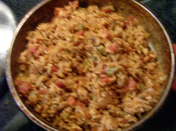 Spanish Rice In The Skillet By Freda