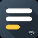 BlackBerry Notes icon