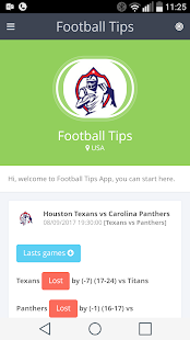 FootballTips Screenshot