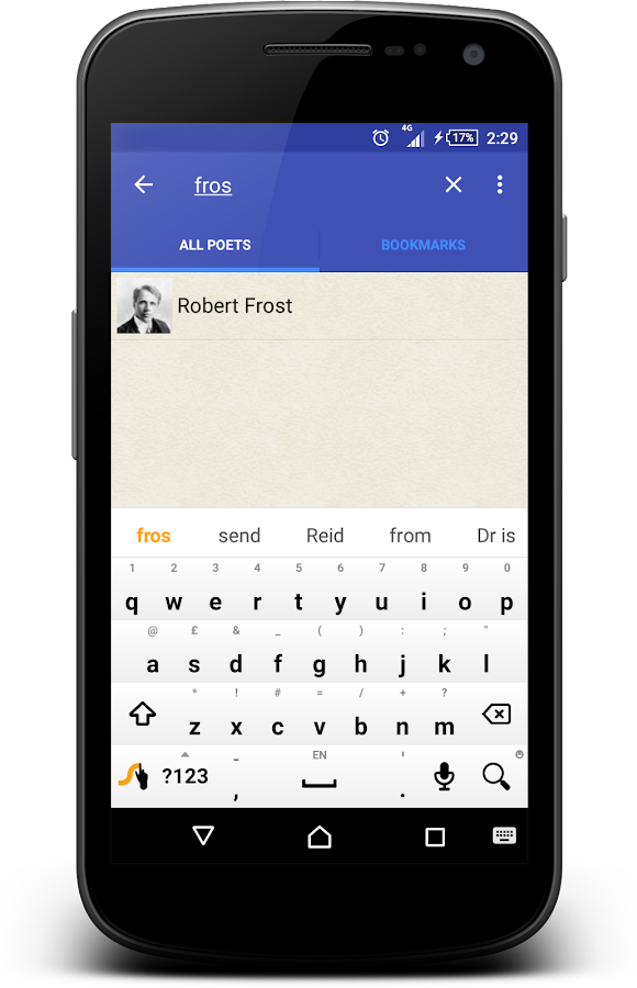 Famous poetry and poets (free)- screenshot