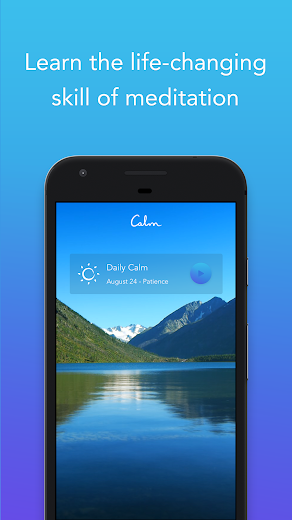 Screenshot 0 for Calm's Android app'