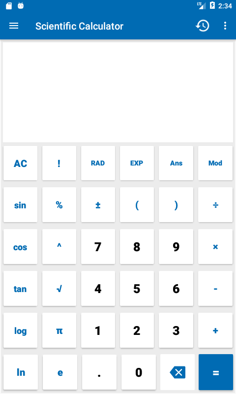 NT Calculator - Extensive Calculator Pro Screenshot 4