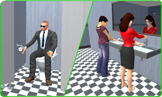 Emergency Toilet Sim 2017 3D - náhled