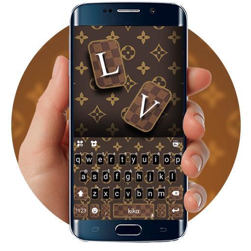 Louis Bag Style Keyboard Theme - Classic, Luxury