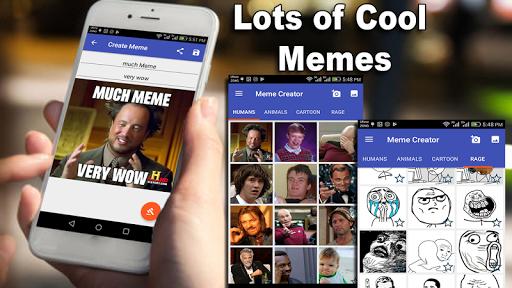 Meme Generator - Create funny memes 5.25.18 screenshots 1