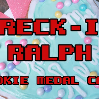 Wreck-It Ralph Cookie Medal Cake.