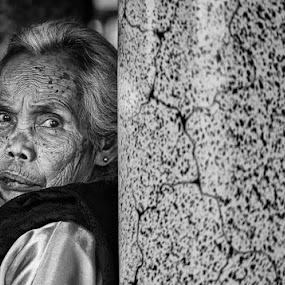 My Grandmother by Alamsyah Rauf - People Portraits of Women ( people )