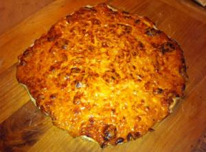 Bake for about 8 minutes until the crust is golden brown and the cheese...