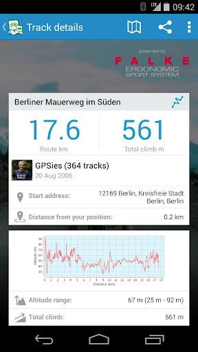 GPSies screenshot 7