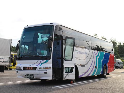 名鉄バス「名古屋~新潟線」 2701 米山SAにて その1