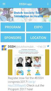DSSH app - náhled