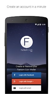 FantomCoin Wallet- screenshot thumbnail
