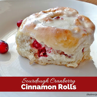 Sourdough Cranberry Rolls.