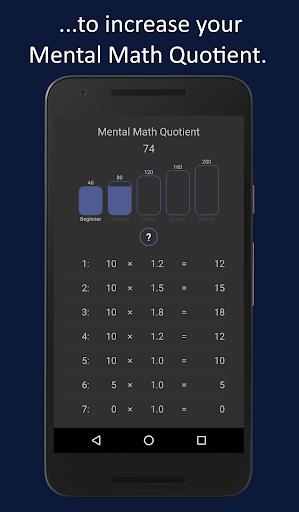 Mental Math Master 1.4.9 screenshots 8