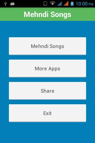 Latest Mehndi Wedding Songs