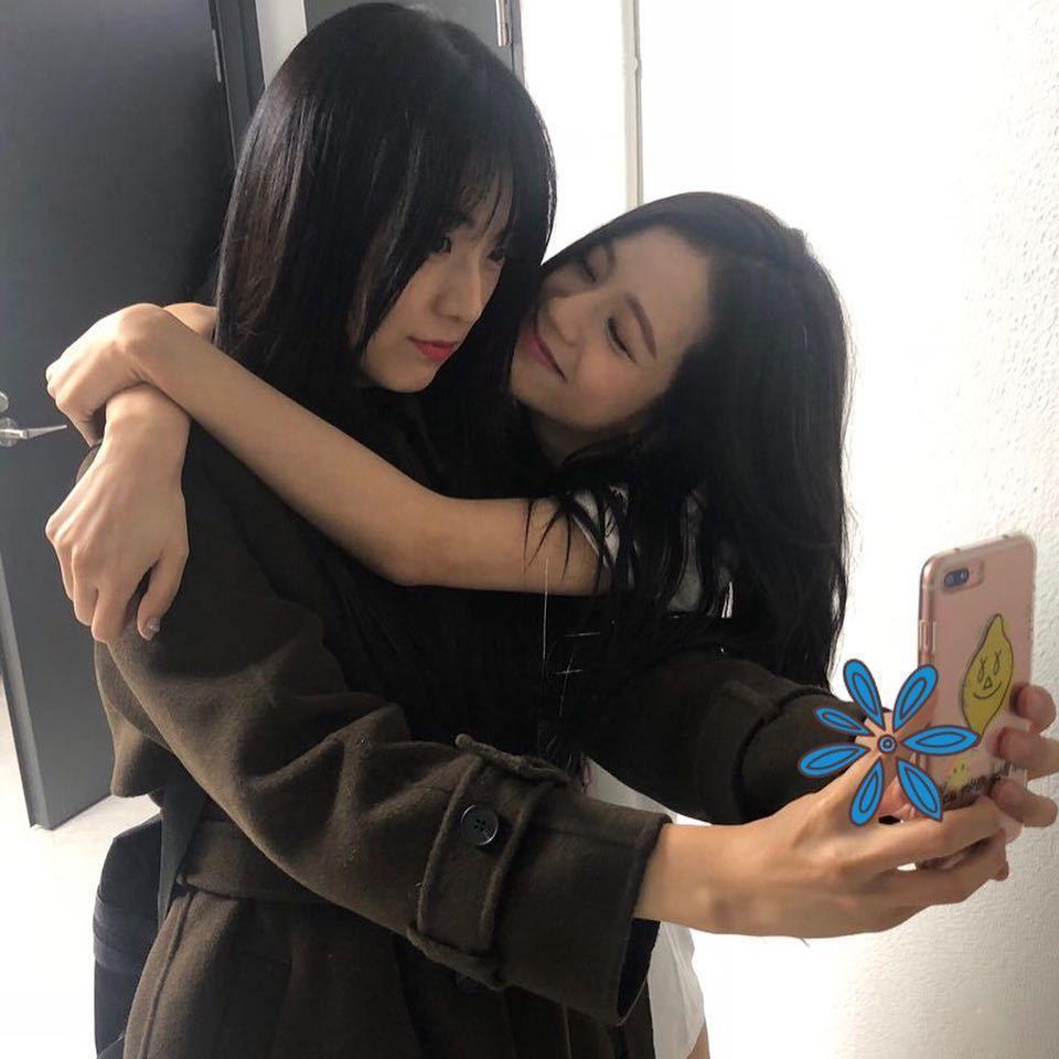 jisoo sister jiyoon
