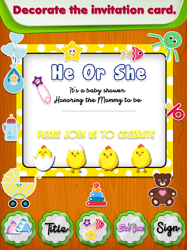 Princess Baby Shower Party screenshot 3