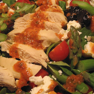 Chicken, Asparagus, Spinach Salad Recipe