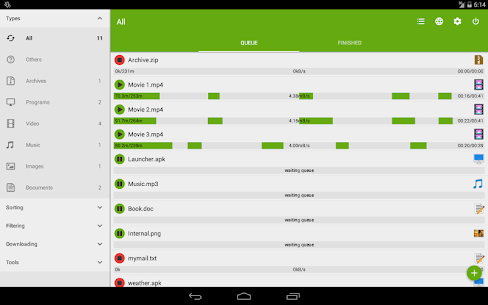 Advanced Download Manager & Torrent downloader 10