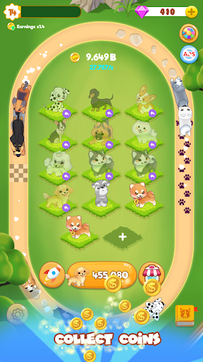 Merge Dogs - Idle Puppy Race Tycoon - screenshot