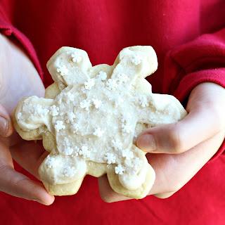 Snowflake Sugar Cookies (Gluten-Free).