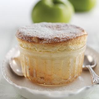 Bramley Apple & Calvados Soufflé