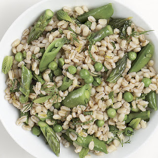 Barley Salad with Peas and Asparagus