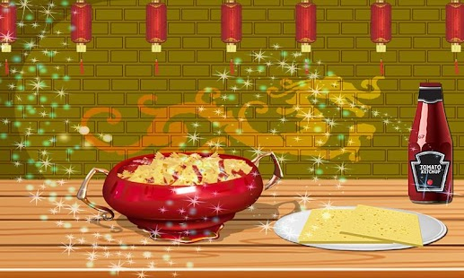 cheese pasta school lunchbox - cooking game - náhled