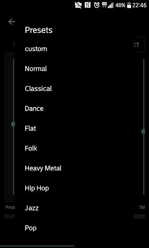 Mp3 player - Qamp screenshot 5