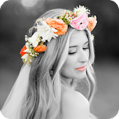 Flower Crown Photo Effect
