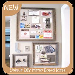 Unique DIY Memo Board Ideas