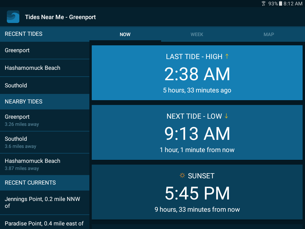 Tides near me android apps on google play tides near me screenshot nvjuhfo Image collections