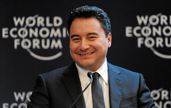 Photo: DAVOS/SWITZERLAND, 26JAN12 - Ali Babacan, Deputy Prime Minister for Economic and Financial Affairs of Turkey is captured during the session 'The Coming Great Shift' at the Annual Meeting 2012 of the World Economic Forum at the congress centre in Davos, Switzerland, January 26, 2012.Copyright by World Economic Forumswiss-image.ch/Photo by Michael Wuertenberg
