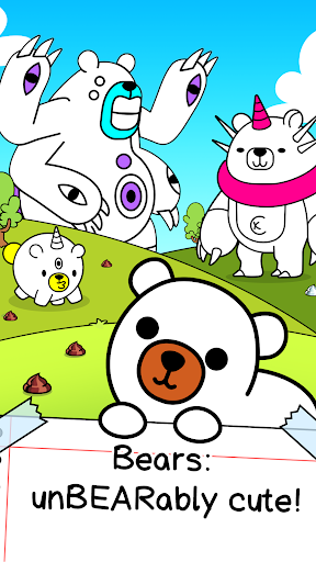 Bear Evolution - UnBEARably Fun Clicker Game 1.0 screenshots 1