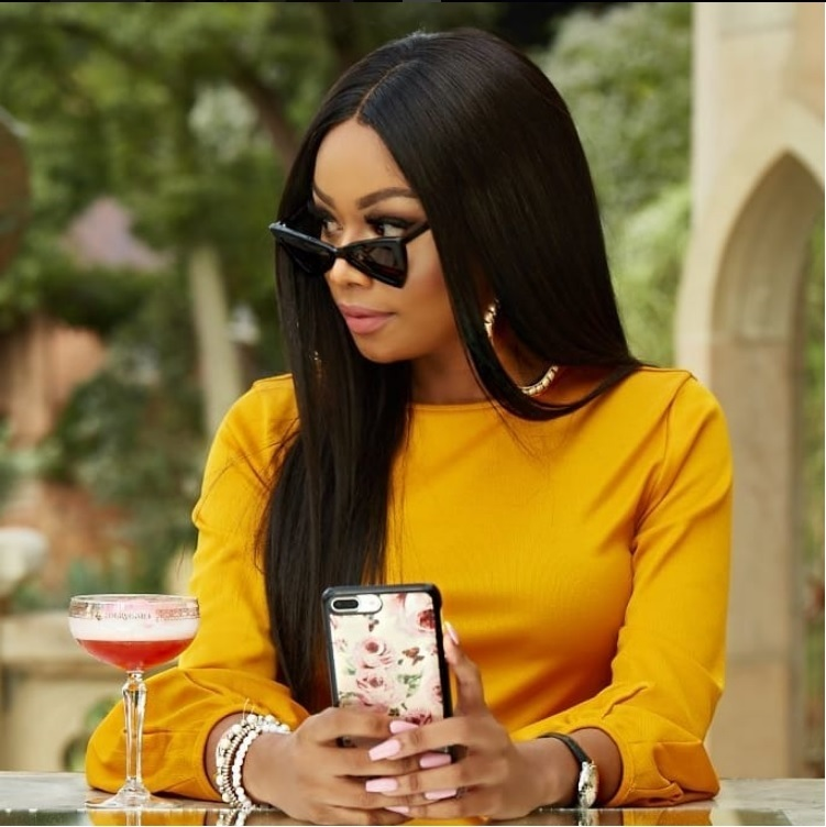 Media personality Bonang Matheba.