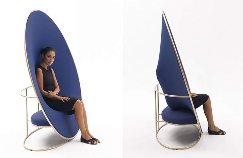 Emanuele Magini diseñó 'Anish' para la marca de muebles Campeggi