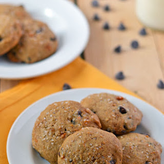Sweet Potato Cookies with Chocolate Chips